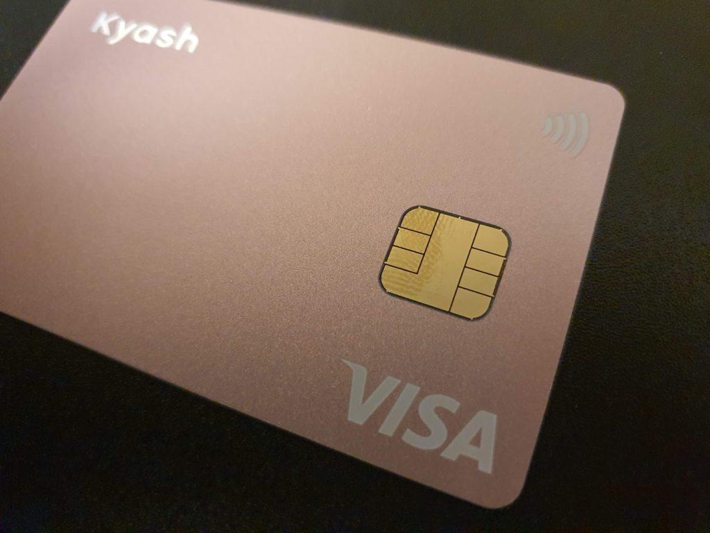 ピンクのキャッシュカード