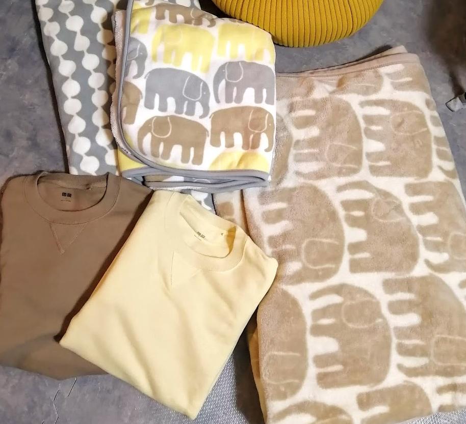 ユニクロ 毛布
